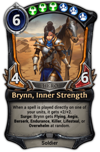Brynn, Inner Strength card