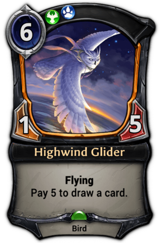 Highwind Glider card