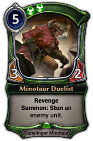 Minotaur Duelist