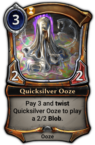Quicksilver Ooze card