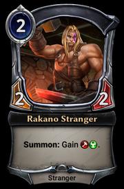 Rakano Stranger