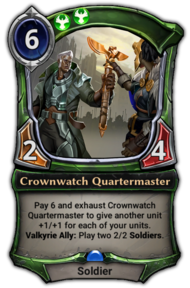 Crownwatch Quartermaster