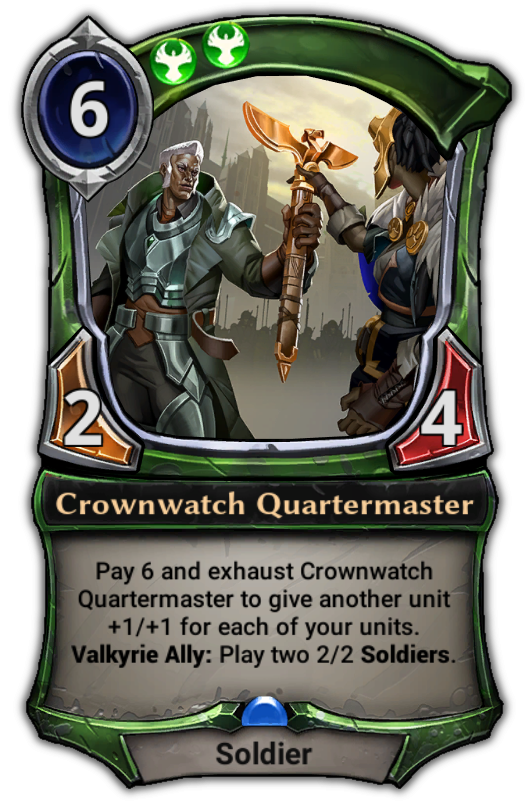 crownwatch quartermaster eternal card game wikia fandom powered