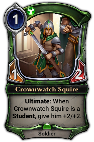 Crownwatch Squire card