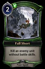 Fall Short
