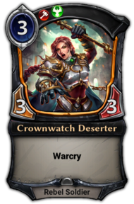 Crownwatch Deserter