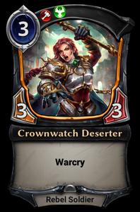 Crownwatch Deserter