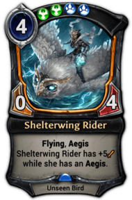 Shelterwing Rider