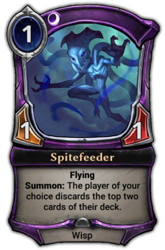 Spitefeeder card