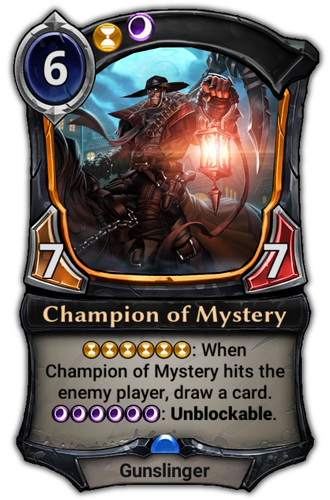 Champion of Mystery card