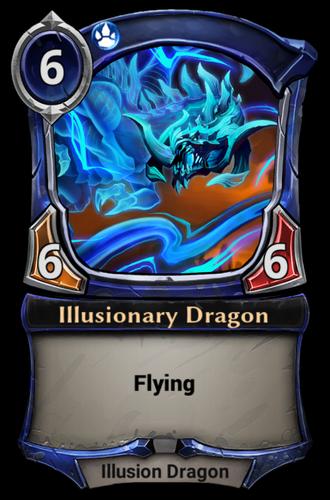 Illusionary Dragon card