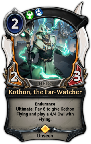 Kothon, the Far-Watcher card