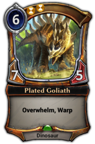 Plated Goliath