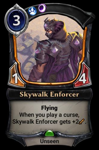 Skywalk Enforcer card