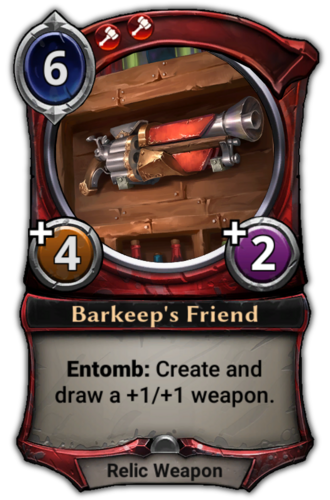 Barkeep's Friend card
