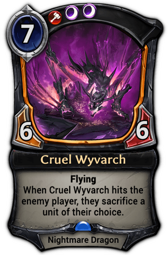 Cruel Wyvarch card