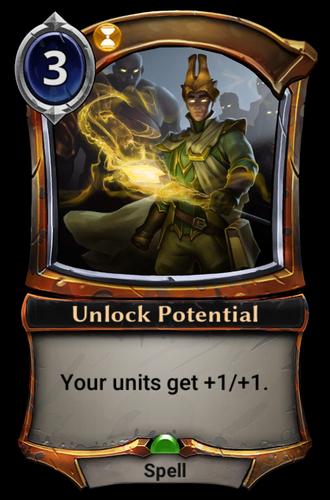 Unlock Potential card