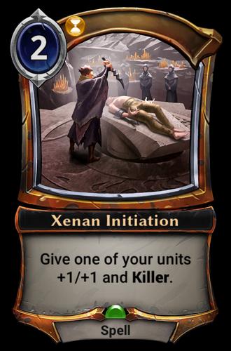 Xenan Initiation card