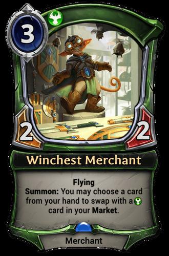 Winchest Merchant card