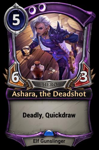 Ashara, the Deadshot card