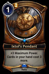Ixtol's Pendant