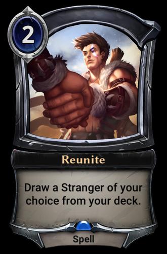 Reunite card