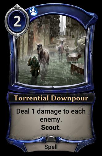 Torrential Downpour card