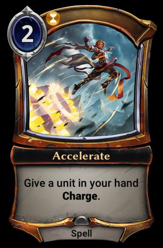 Accelerate card