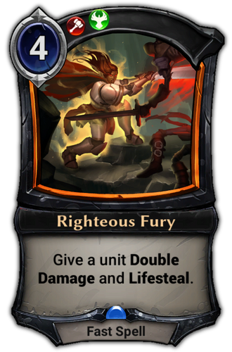 Righteous Fury card