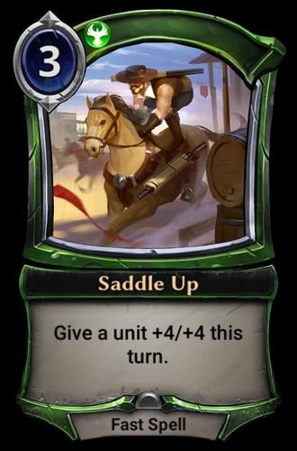 Saddle Up card