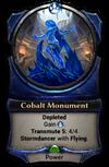 Cobalt Monument