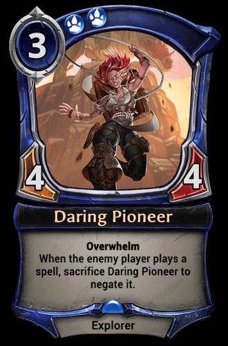 Daring Pioneer card