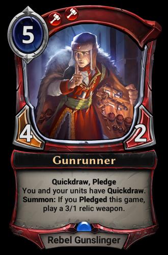 Gunrunner card