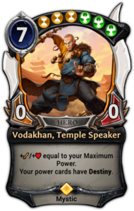 Vodakhan, Temple Speaker