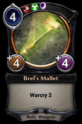 Brel's Mallet card