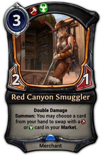 Red Canyon Smuggler card