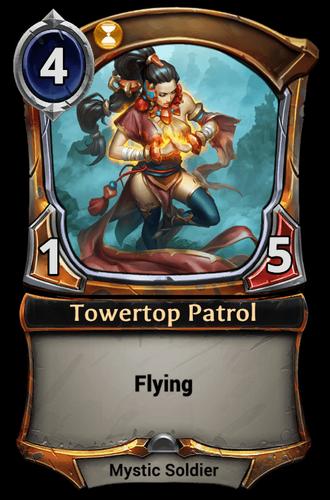 Towertop Patrol card