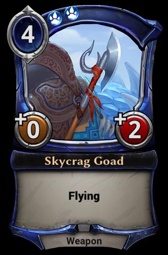 Skycrag Goad card