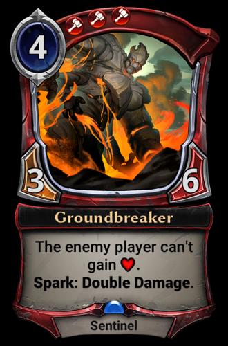 Groundbreaker card