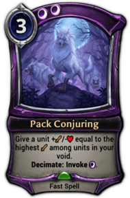 Pack Conjuring