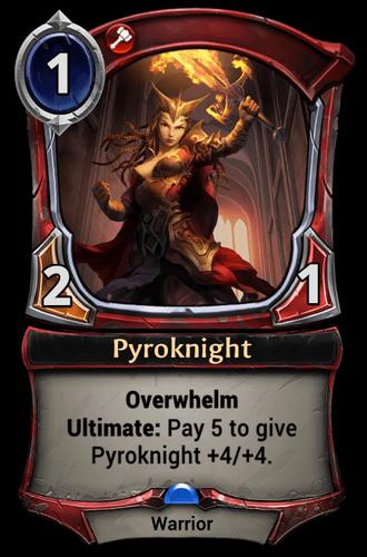 Pyroknight card