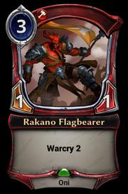 Rakano Flagbearer