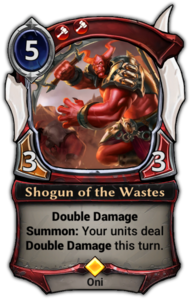 Shogun of the Wastes