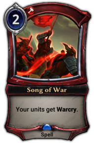 Song of War