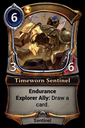 Timeworn Sentinel card