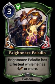 Brightmace Paladin