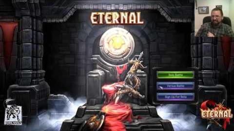 Eternal Card Game Live Stream Demo 2 - Ft. Luis Scott-Vargas & Patrick Chaplin