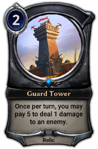 Guard Tower card