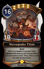 Novaquake Titan