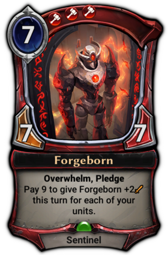Forgeborn card